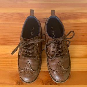 Carter's Wingtips Dress Shoes